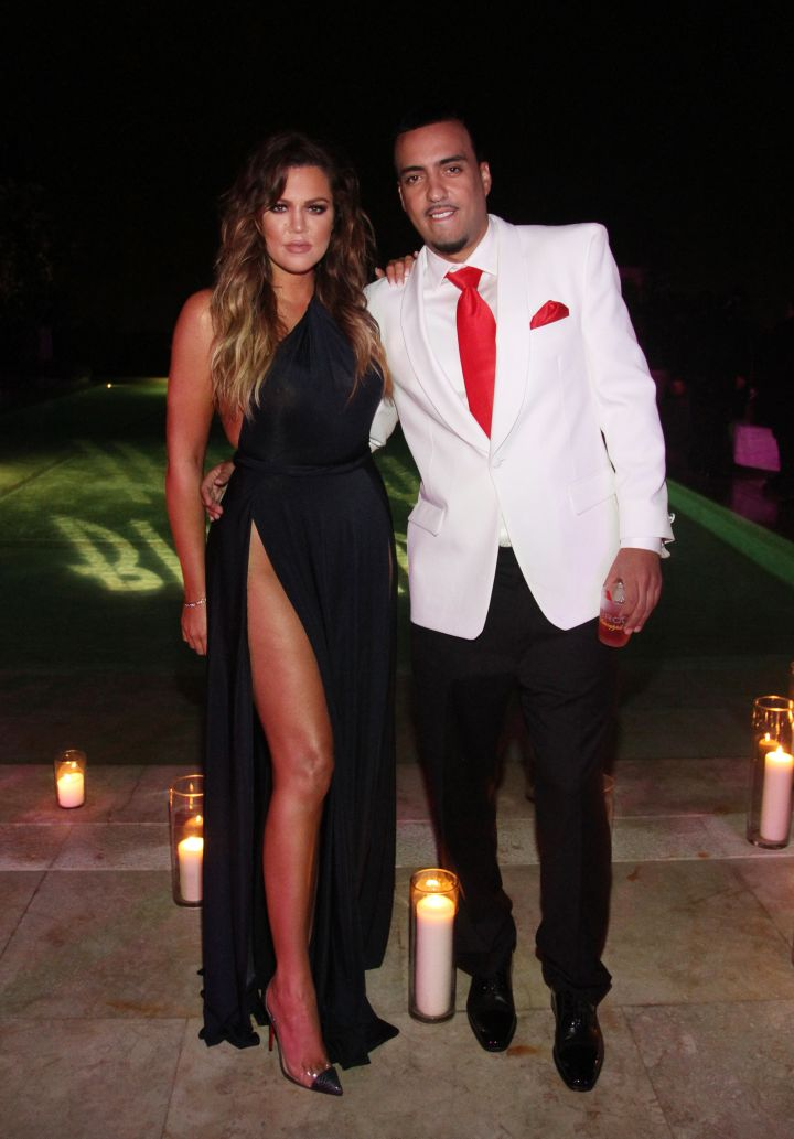 Khloe Kardashian and French Montana get fancy for his big night.