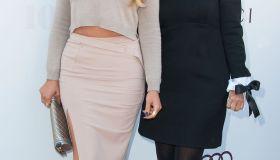 khloe kardashian kris jenner red carpet hollywood reporter