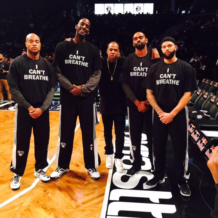 Jay Z and the Brooklyn Nets stand in solidarity with Eric Garner.