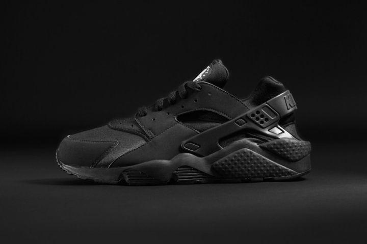 """Nike Air Huarache """"Triple Black"""" – $100"""