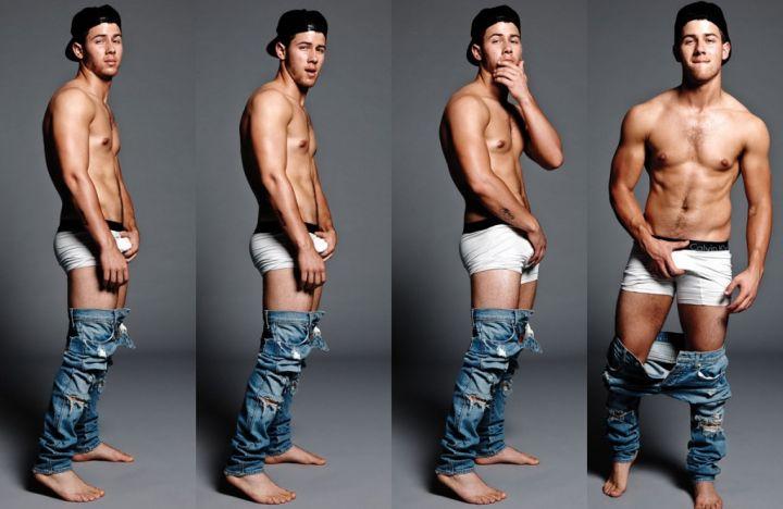 Nick Jonas Done Grown Up, Huh?
