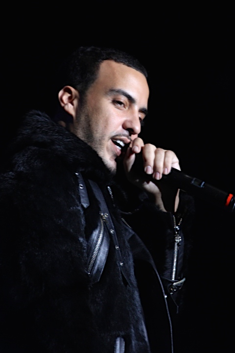 Haan! French Montana puts on a set filled with older and newer hits at Cali Christmas.