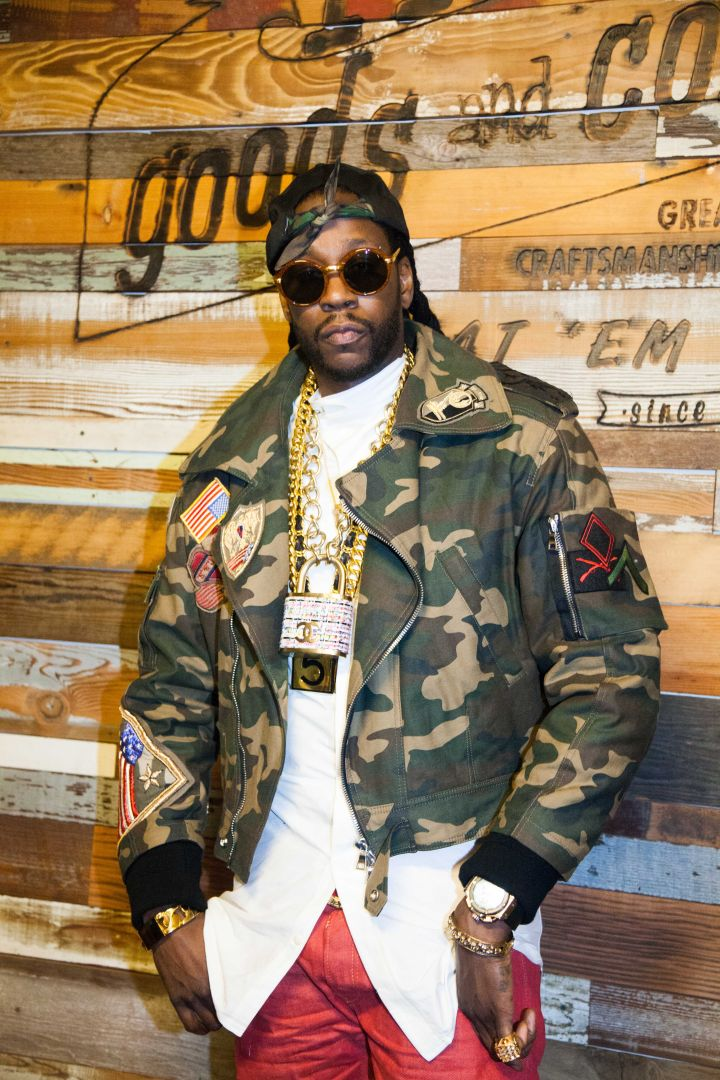 2 Chainz Arriving At The PRPS Launch.