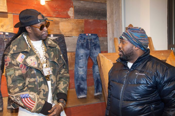 2 Chainz Chatting It Up With Rap Legend Raekwon.