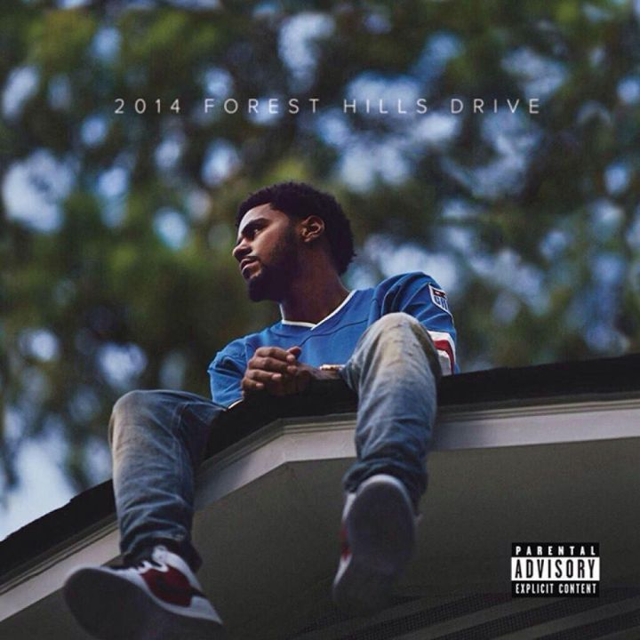 "7. J. Cole ""2014 Forest Hills Drive"""