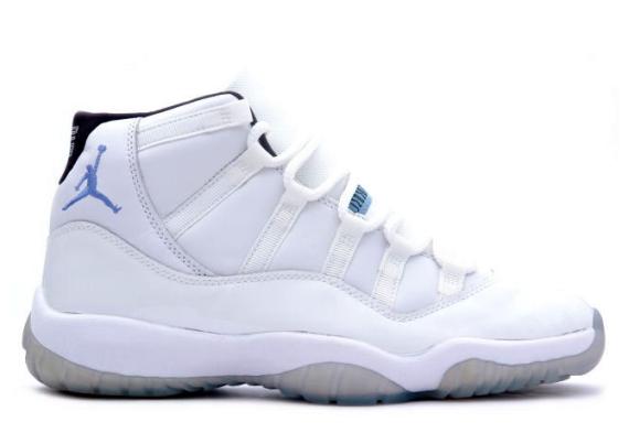"""Air Jordan XI """"Columbia"""" – $200"""