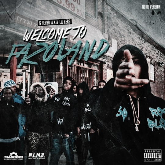 """2. Lil Herb """"Welcome to Fazoland"""""""
