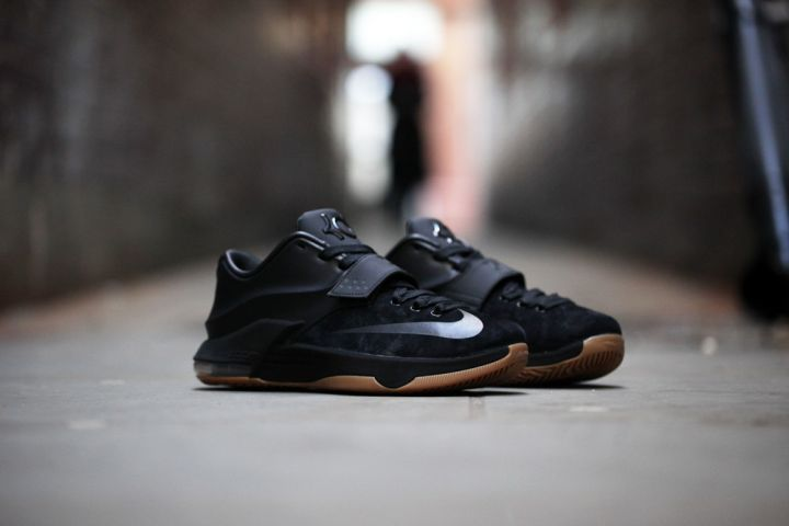 """7. Nike KD 7 EXT """"Black Suede"""" – $200"""