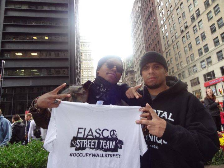 Not only did Lupe Fiasco join the OWS protest, but he named a song after it.