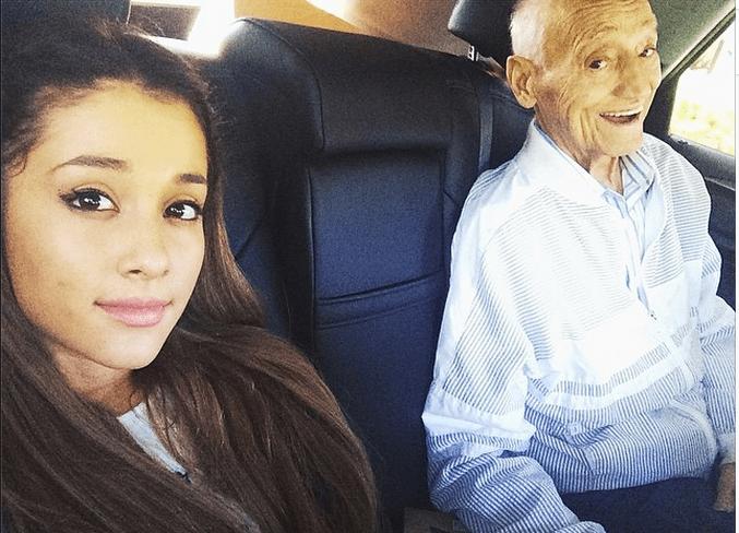 Ariana & Her Grandfather (RIP)