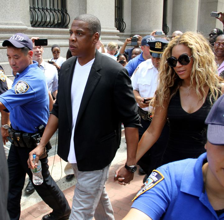 Beyonce and Jay Z supported Trayvon Martin's parents after his death.