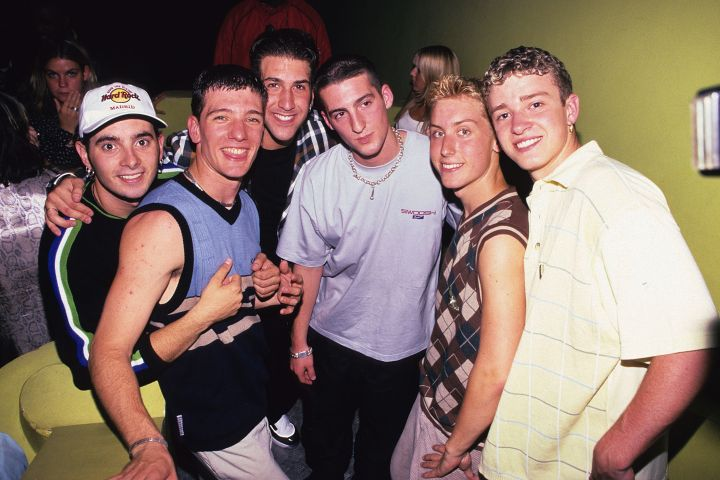 He then went on to join N'Sync and ruled the later part of the decade with his bandmembers.