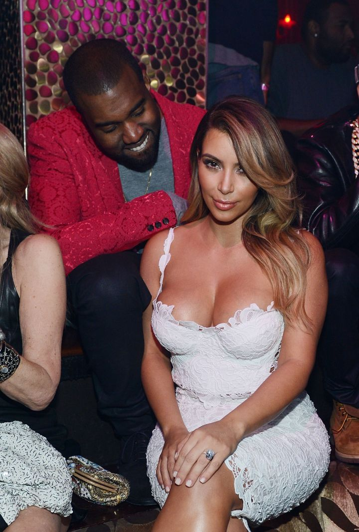 The time Kimmy's cleavage got that rarely seen smile of approval.