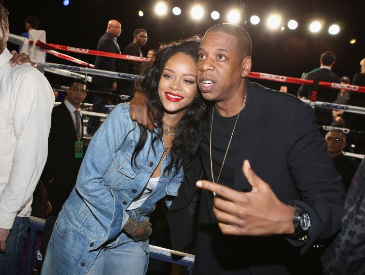 Jay Z and Rihanna reunite!