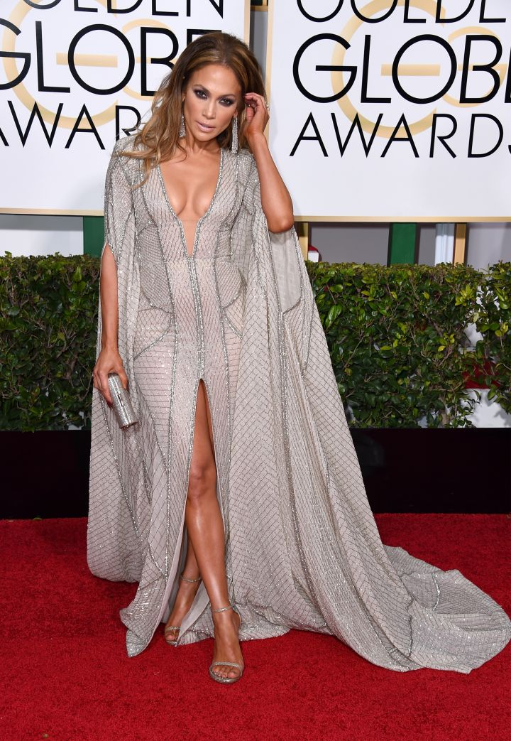Dazzling at the Golden Globes.