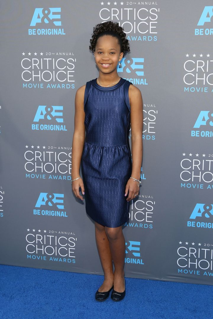 Quvenzhane Wallis made history as the youngest person ever nominated for the Best Actress Oscar when she was 9-years-old.