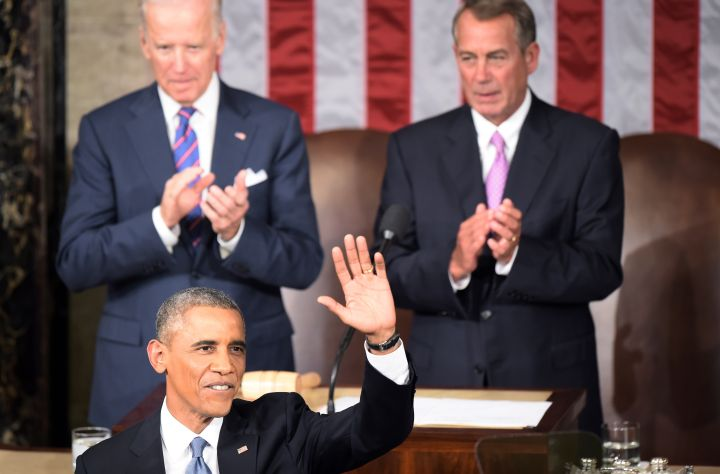 It's clear to see that Biden is in support of the current state of the union.