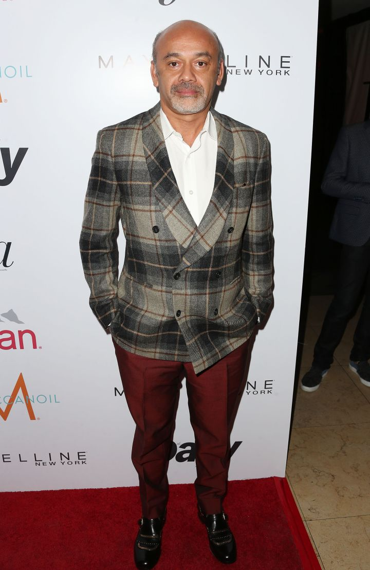 The legendary Christian Louboutin also made an appearance.