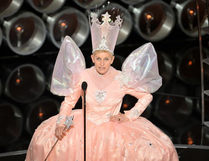 Who can forget the time she dressed as a fairy godmother to the stars at the 2014 Academy Awards?