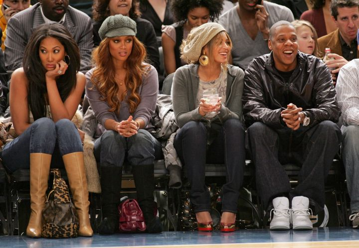 Somehow, Bey just turned this into girl's night out.