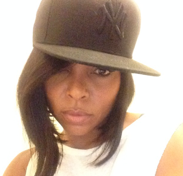 Because she's always a little DMV (D.C., Maryland, Virginia) wherever she goes (even when she's rocking a NY hat).