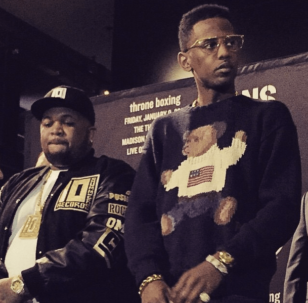 Fabolous posted this photo with DJ Mustard.