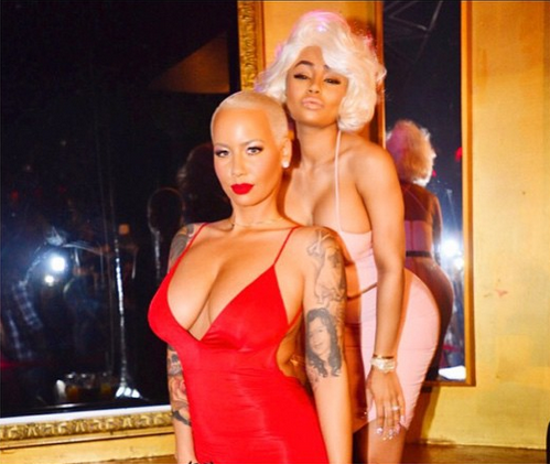 Amber Rose and Blac Chyna get ready to host a party.