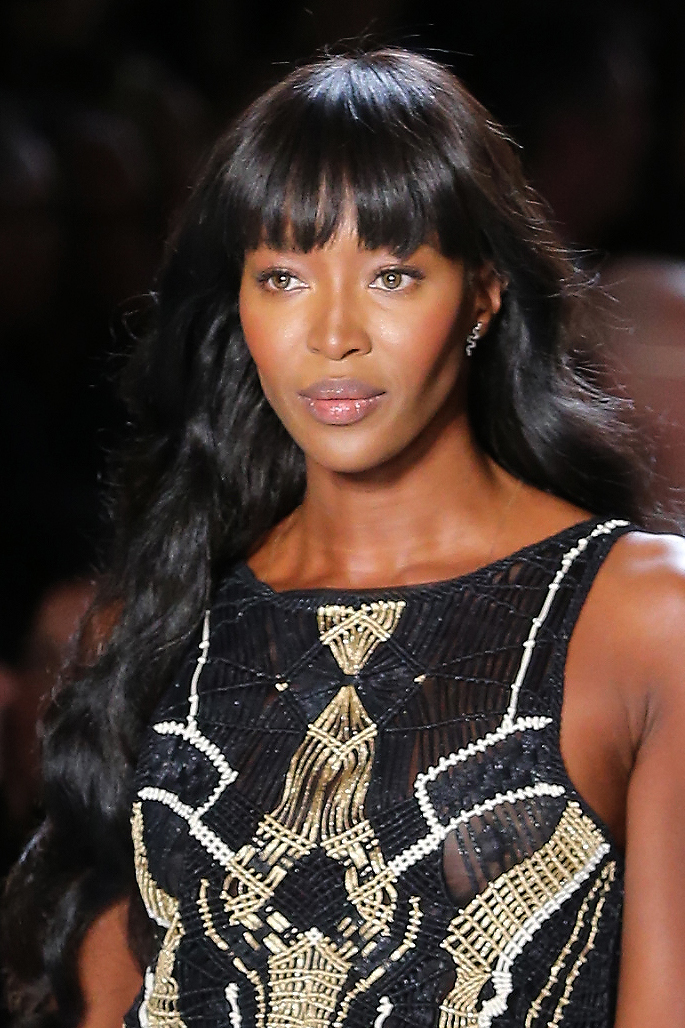Naomi Campbell in all her glory.
