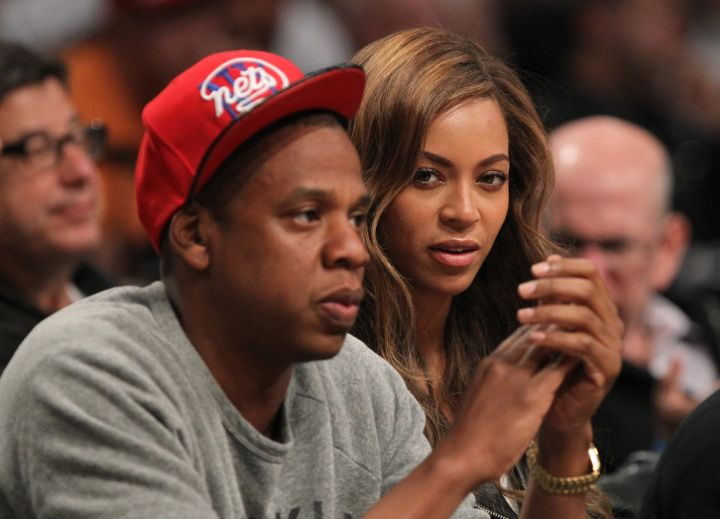 But Bey's mood switched up quick.