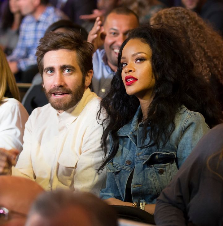 Rihanna and Jake Gyllenhaal have a serious moment.