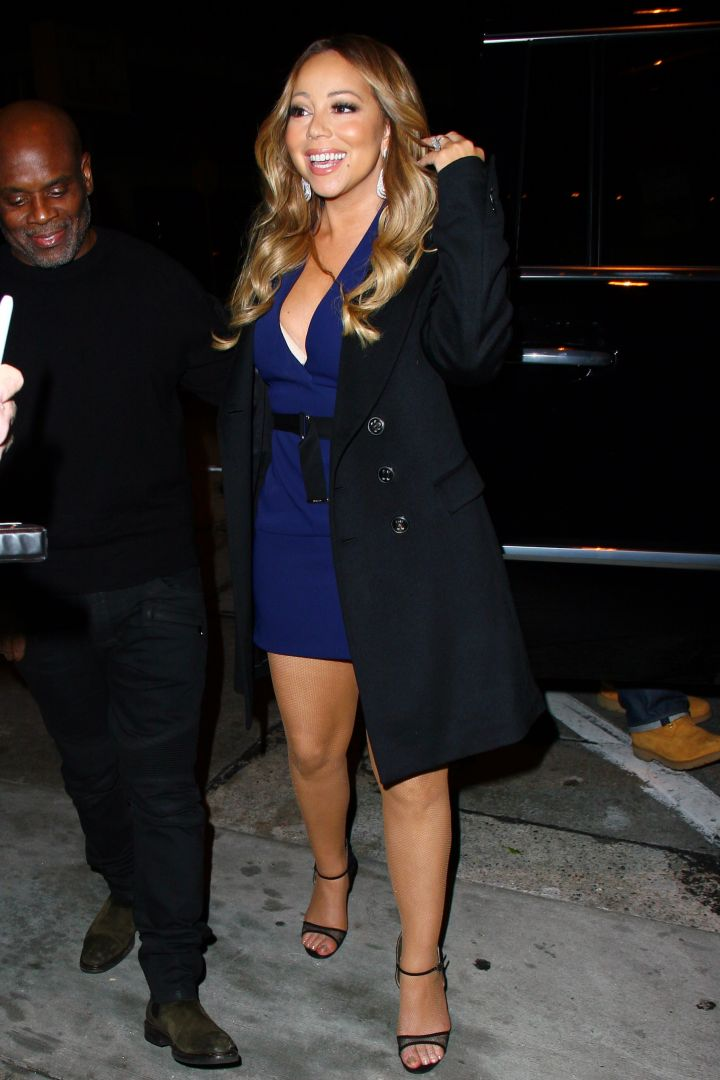Mariah Carey reminded us what a true diva looks like, as she stopped for dinner in West Hollywood.