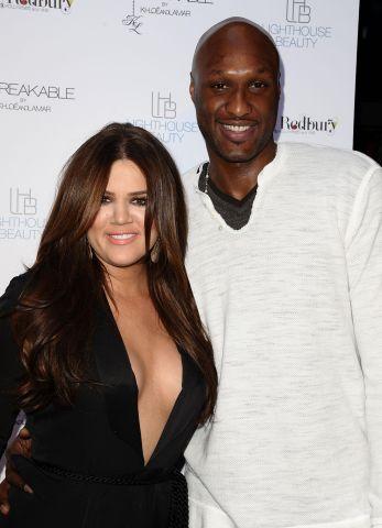 Khloe Kardashian Odom And Lamar Odom Fragrance Launch For 'Unbreakable'