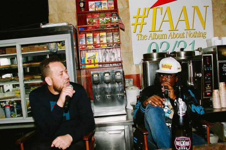 "Wale ""The Album About Nothing"" Listening Session"