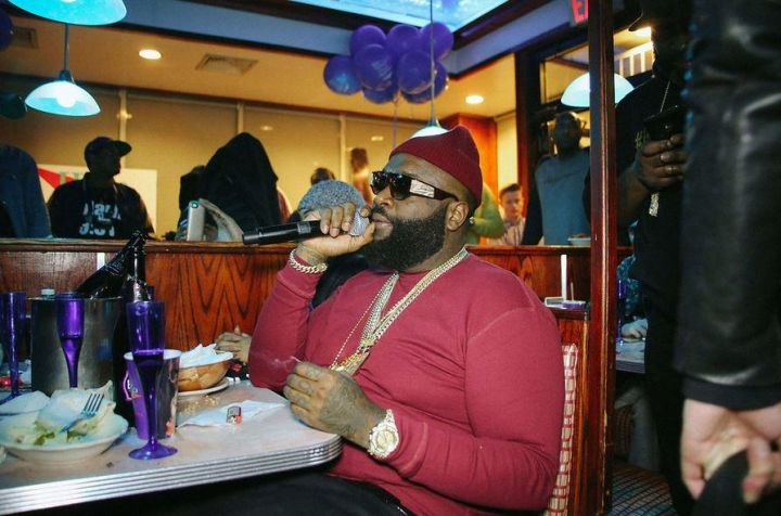 Rick Ross Offering A Few Kind Words To Wale.