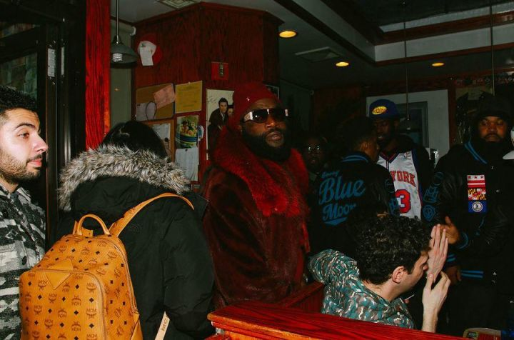 Rick Ross Supporting Wale's Listening Session.