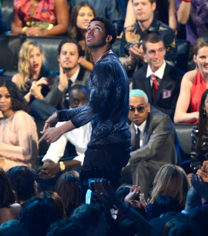 Drake & Chris Brown at 2012 MTV Video Music Awards