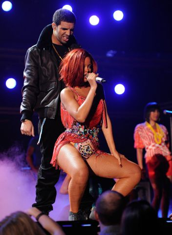 Drake and Rihanna perform at 53rd Annual Grammy Awards