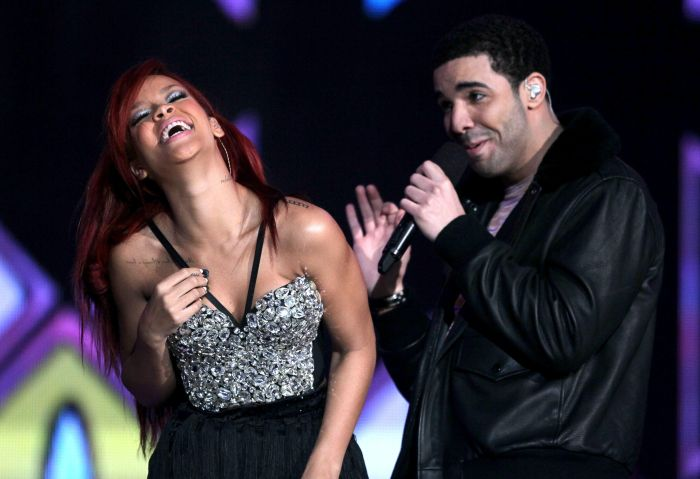 Drake and Rihanna perform at 2011 NBA All-Star Game