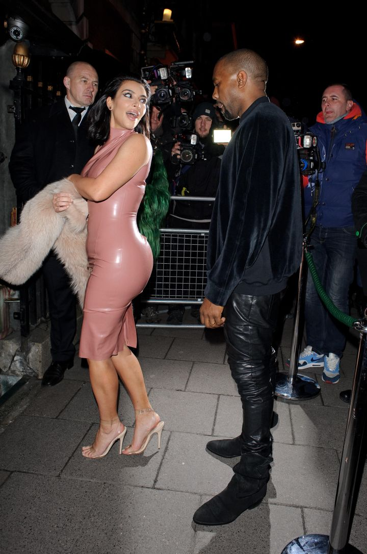 """In 2008, he posted a nude picture of Kim to his blog as he dubbed her his """"girl of the week."""""""