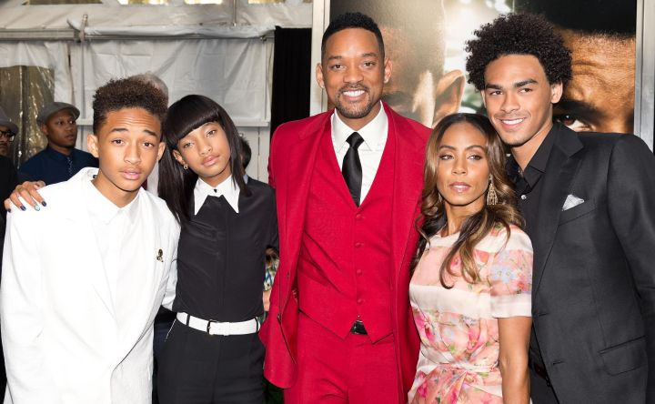 Will Smith and the fam