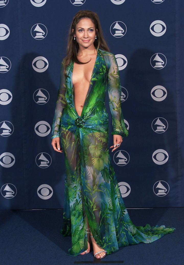 We all remember her iconic dress at the Grammys in 2000.