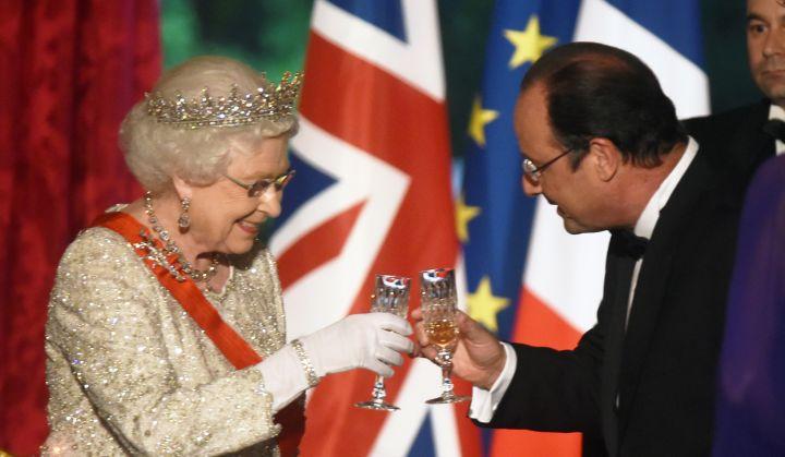Even Queen Elizabeth sips.