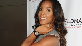 Kelly Rowland Showcases New TW Steel Canteen Bracelet Watch In Los Angeles