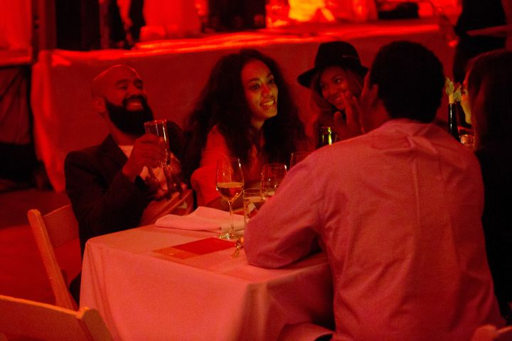 Beyonce enjoyed some drinks with Solange and her husband.