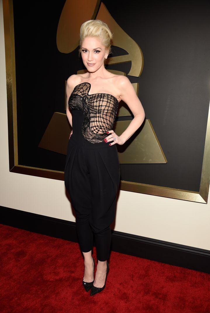 Gwen Stefani in Versace