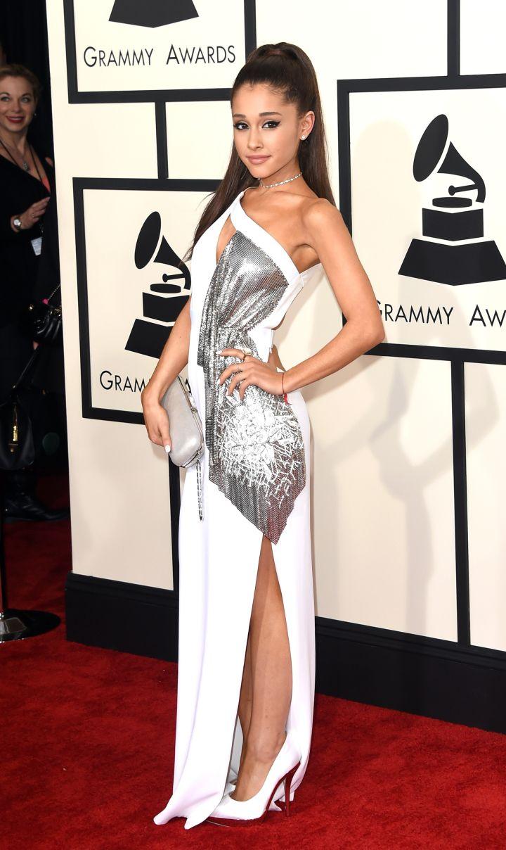Ariana Grande in Versace