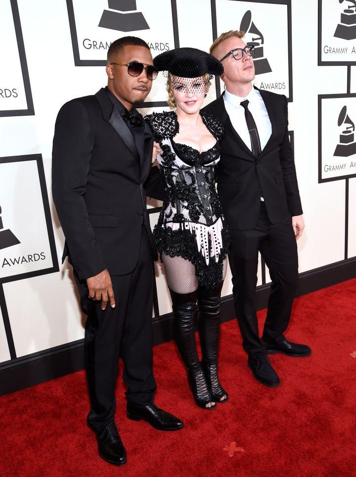 Madonna, Nas, and Diplo