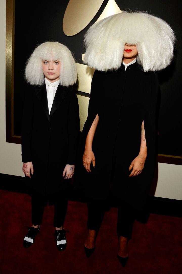 Sia and Maddie Ziegler