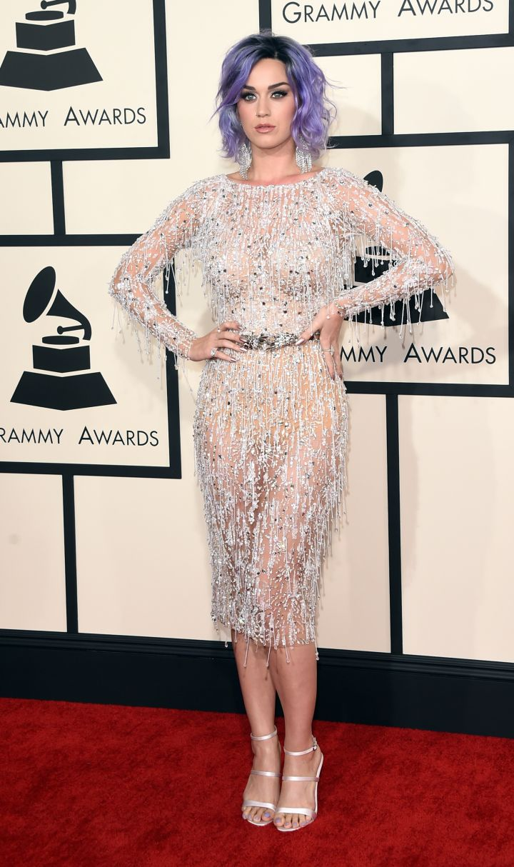 Katy Perry in a Zuhair Murad gown