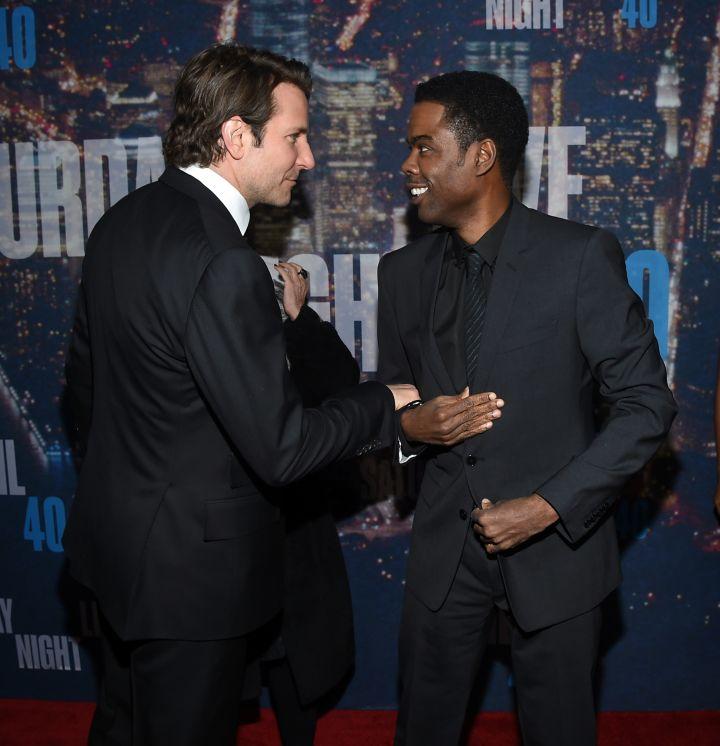 Chris Rock and Bradley Cooper